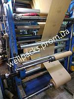 Бумажные крафт-пакеты для доставки продуктов, производство с печатью