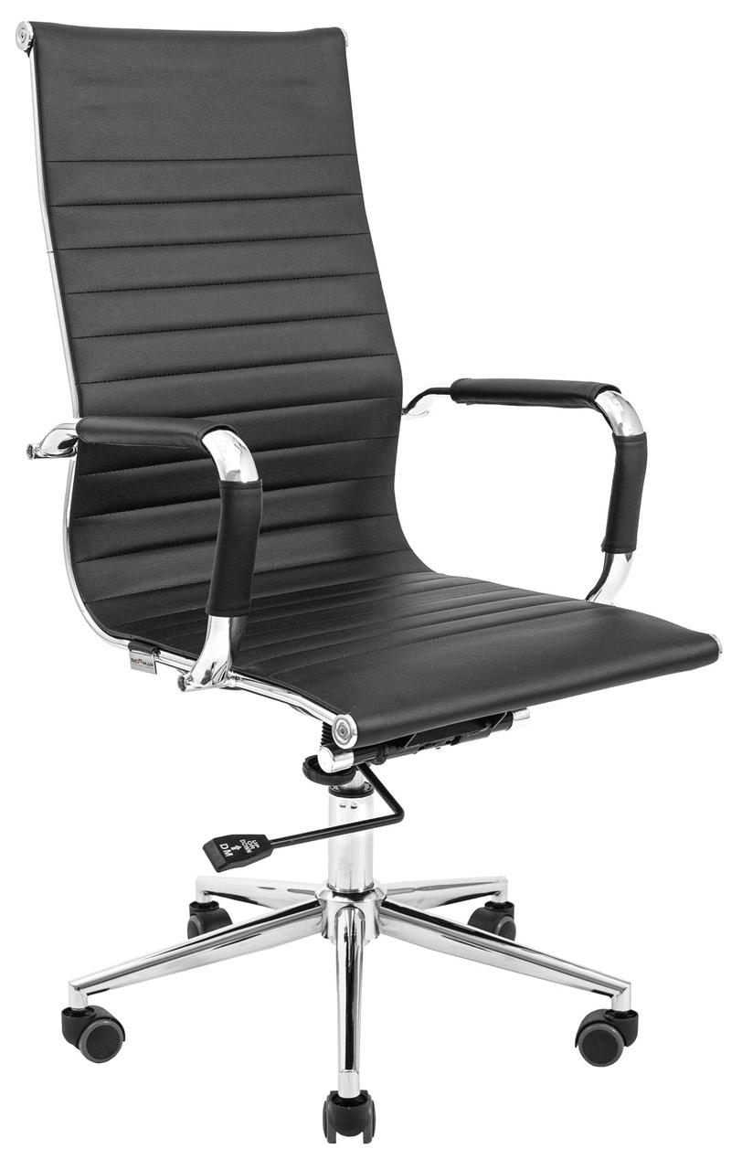 Офісне крісло БАЛІ Ю Хром DT (BLACK, BLUE, RED, LIME GREEN PU) ТМ Richman