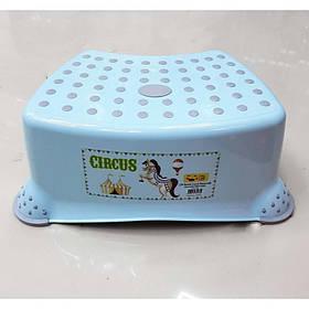 Детская ступенька для ванной комнаты голубая Irak Plastik CM-510