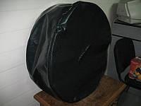 Чехол на запасное колесо из ПВХ материала (цвет черный), пошив чехлов под заказ в Харькове.