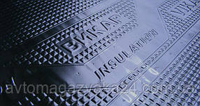 Виброизоляция для авто Vikar 3,5 мм, размер 630х600 100мк (Викар)