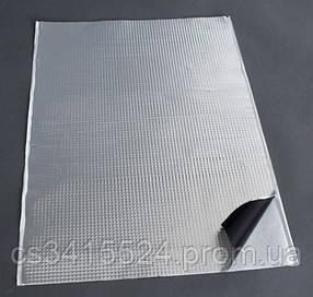 Виброизоляция для авто Vizol 4,0 мм, размер 700х500 60мк (Визол)