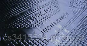 Виброизоляция для авто Vikar 2,3 мм, размер 630х600 100мк (Викар)