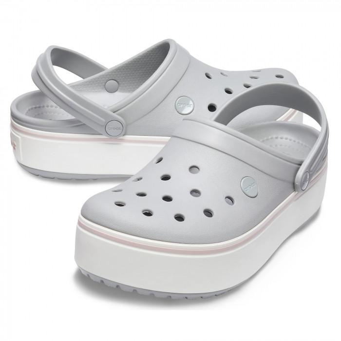 Кроксы женские Crocs Platform Clog серые 36 р.