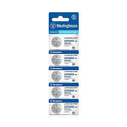 Літієві Кнопкові батарейки – CR2032-BP5 Westinghouse (Ціна вказана за 1 шт,)