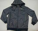 Куртка демисезонная клетчатая для мальчика, фото 2