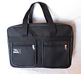 Мужская сумка Wallaby через плечо барсетка папка портфель А4+ сумки мужские 8w2630 черная, фото 3
