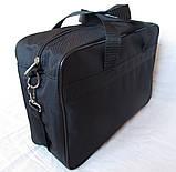 Мужская сумка Wallaby через плечо барсетка папка портфель А4+ сумки мужские 8w2630 черная, фото 8