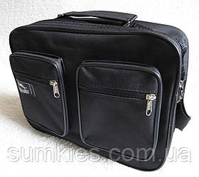 Мужская сумка Wallaby через плечо прочная папка портфель А4 мужские сумки 8w2611 черная