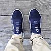 Літні кросівки сині чоловічі текстильні сітка в стилі adidas yeezy, фото 4
