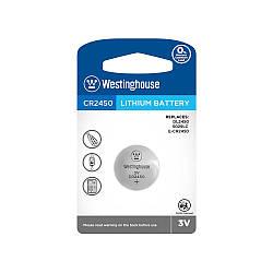Літієві Кнопкові батарейки – CR2450-BP1 Westinghouse (Ціна вказана за 1 шт,)