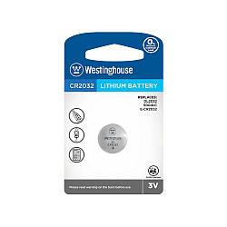 Літієві Кнопкові батарейки – CR2032-BP1 Westinghouse (Ціна вказана за 1 шт,)