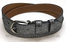 Ремінь шкіряний жіночій Fs.Style 30fs001 колір сірий