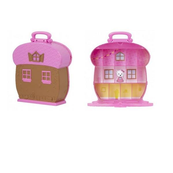 Іграшка LIL WOODZEEZ Кейс для фігурок рожевий 63601Z