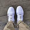 ОСТАННІЙ РОЗМІР 45 Літні кросівки сині чоловічі текстильні сітка в стилі adidas yeezy, фото 4