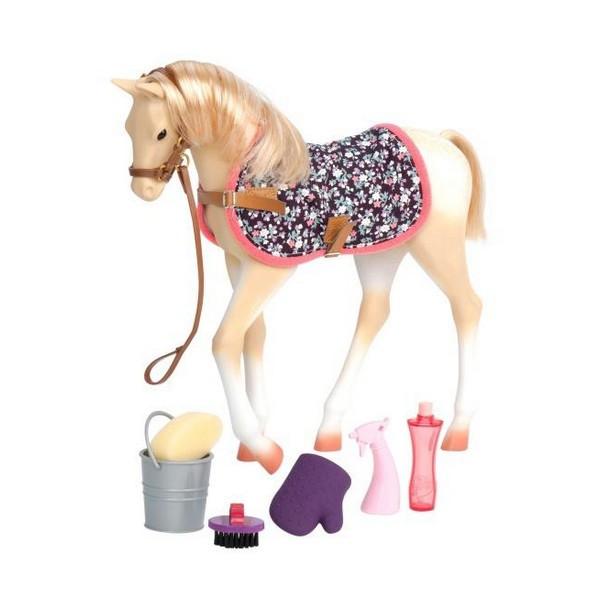 Ігрова фігура Our Generation Кінь Скарлет з аксесуарами 26 см BD38012Z