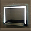 Зеркало с LED подсветкой с полкой, 800х600мм, L32