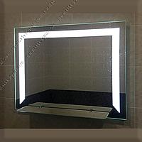 Зеркало с LED подсветкой с полкой, 800х600мм, L32, фото 1