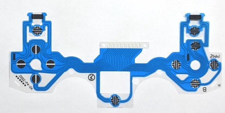 Контактний шлейф безпровідного джойстика Dualshok 4 PS4 (JDM-001, JDM-011) (PRC)
