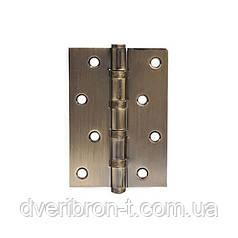 Петля для дверей стальная универсальная  apecs 100*75-B4-Steel-AB