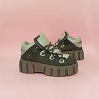39, 40 Серые черные высокие ботинки кроссовки криперы на толстой подошве нью рок new rock женские черные