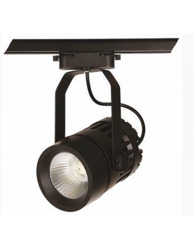 Трековий світлодіодний світильник 22W 901COB-1740 BK 4500K Levistella