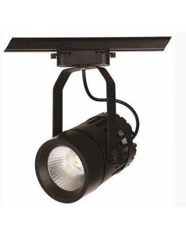 Трековий світлодіодний світильник 22W 901COB-1740 BK 4500K Levistella, фото 2