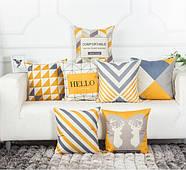 Декоративна подушка (наволочка) Колекція Nordic Home #4, фото 2