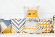 Декоративна подушка (наволочка) Колекція Nordic Home #4, фото 3