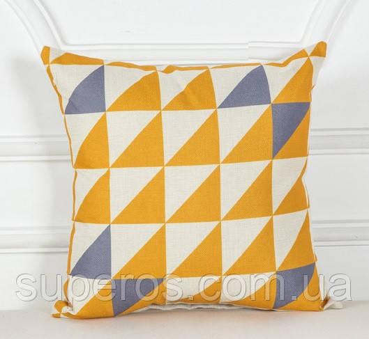 Декоративна подушка (наволочка) Колекція Nordic Home #4