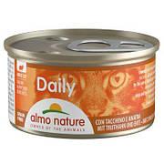Консерва Almo Nature Daily Menu Cat с уткой 85 г. Влажный корм для котов Almo Nature Daily Menu Cat с уткой