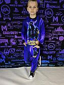 Дитячий світиться костюм унісекс CLASH of CLANS +маска в подарунок