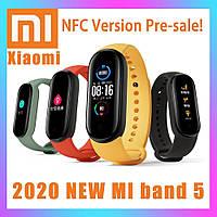 Xiaomi Mi band 5 plus умные часы Fitnes tracker M5 plus, smart watch, смарт годинник, РЕПЛИКА Mont