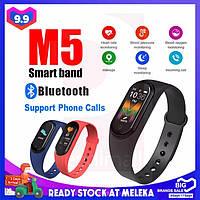 Умные часы Xiaomi Mi band 5, Fitnes tracker M5, часы для фитнеса, smart watch, смарт годинник Mont