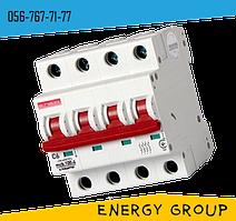 Автоматический выключатель четырехполюсный E.next 10А, 16А, 25А industrial