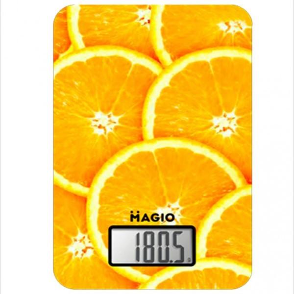 Ваги кухонні MAGIO MG-296 5кг апельсин