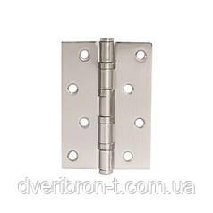 Петля для дверей стальная универсальная  apecs 100*75-B4-Steel-NIS