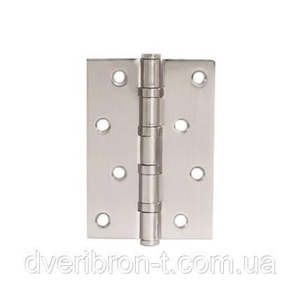 Петля для дверей стальная универсальная  apecs 100*75-B4-Steel-NIS, фото 2
