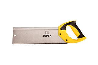 """Ножівка по дереву пасовочная Topex - 350 мм 13T х 1"""" (10A706), (Оригінал)"""