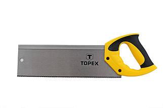 """Ножовка по дереву пасовочная Topex - 300 мм 9T х 1"""" (10A703), (Оригинал)"""