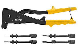 Заклепочник для резьбоых заклепок Topex - 270 мм (43E110), (Оригінал)