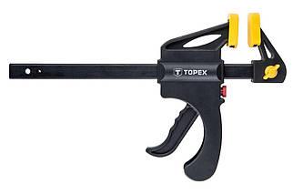 Струбцина автомат Topex - 150 x 60 мм (12A515), (Оригінал)