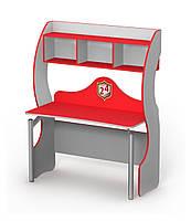Стол письменный для подростка с надстройкой
