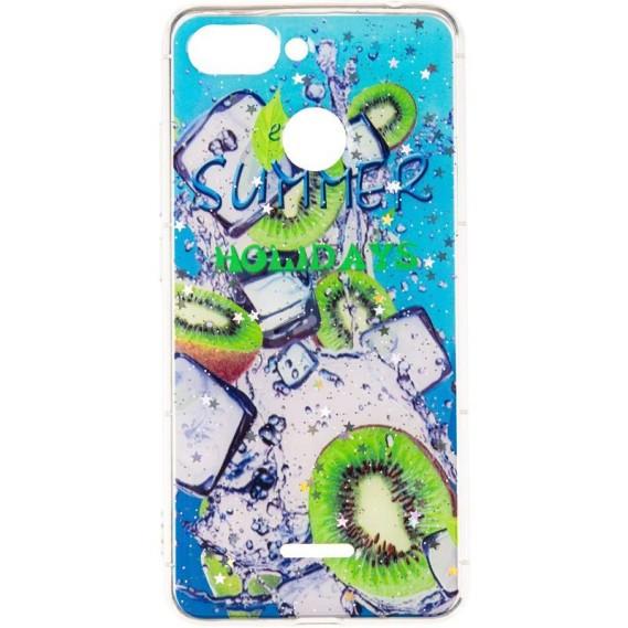 Силиконовый чехол Summer Fruit Case для Samsung Galaxy M20 (M205) Kiwifruit