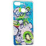 Силиконовый чехол Summer Fruit Case для Samsung Galaxy M20 (M205) Kiwifruit, фото 2