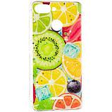 Силиконовый чехол Summer Fruit Case для Samsung Galaxy M20 (M205) Mix Fruit, фото 2
