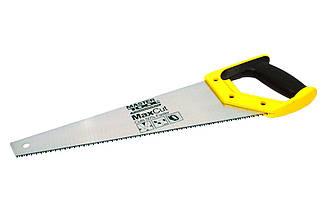 """Ножовка по дереву Mastertool - 400 мм 7T х 1"""" х 3D (14-2040), (Оригинал)"""