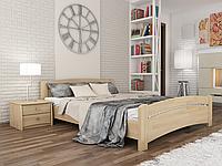 Кровать Венеция фабрика Эстелла, натуральное дерево бук Бук Массив, 160х190, 102 Бук Натуральный