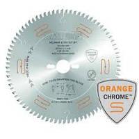 Пила дисковая СМТ ORANGE CHROME D250-z60 универсальная для продольного и поперечного пиления с чистым резом, фото 1
