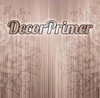 Decor Primer грунтовочная краска под тонкослойные штукатурки 1л (Декор Праймер)